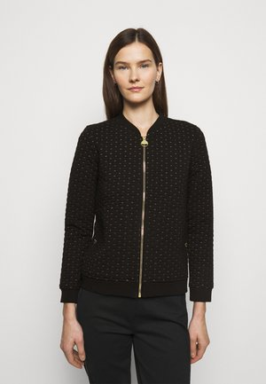 UNDERSTEER OVERLAYER - Cardigan - black
