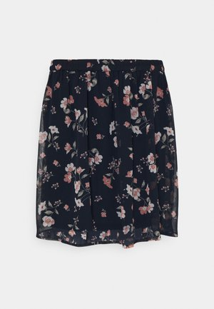 VMZALLIE SHORT SKIRT - Mini skirt - navy blazer