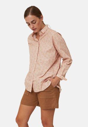 Button-down blouse - flower print