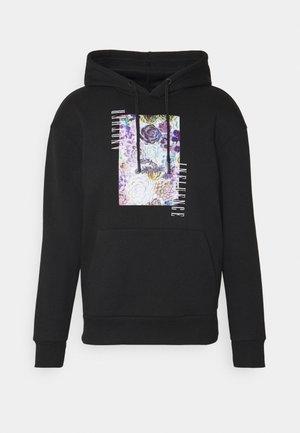 MILO HOODY - Sweatshirt - black