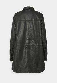 Won Hundred - NANCY - Krátký kabát - black - 1