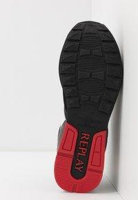 Replay - GARWING - Sneakers basse - black/grey - 4