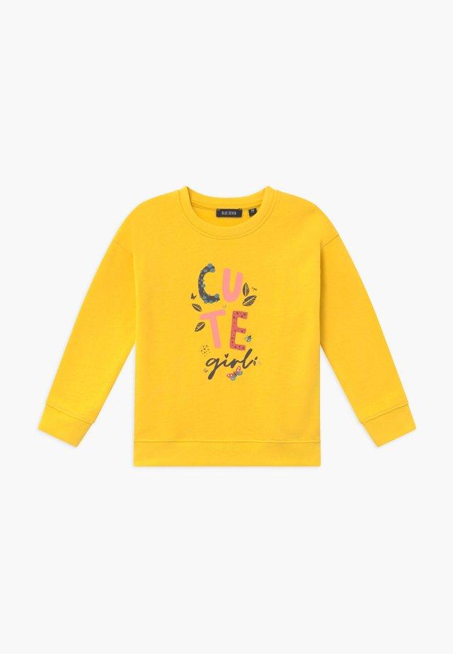 KIDS CUTE - Sweatshirt - yellow