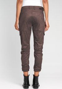 Gang - Cargo trousers - bitter sweet chocolate - 1