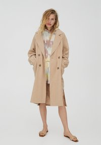 PULL&BEAR - Trench - beige - 0