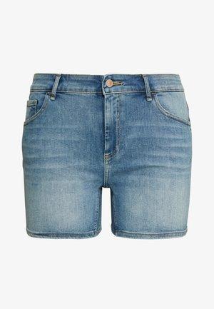 CARWILLY LIFE SKINNY - Jeansshorts - light blue denim