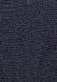 ONLY - ONLAMALIA V-NECK SLIM - Sweter - night sky - 2