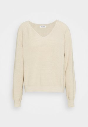 ANNA V NECK  - Jumper - quicksand