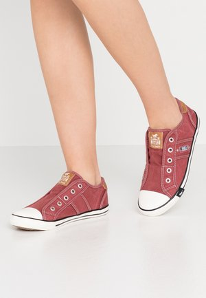 Scarpe senza lacci - bordeaux