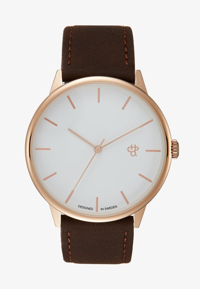 KHORSHID - Watch - white/brown