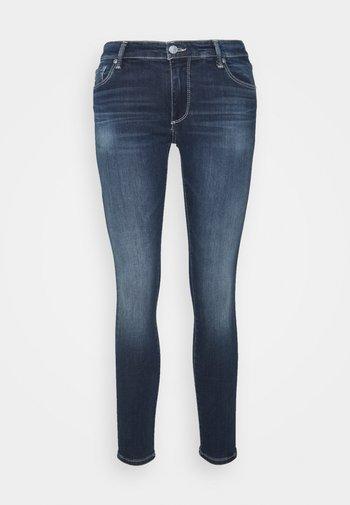 LEGGING ANKLE - Skinny-Farkut - blue