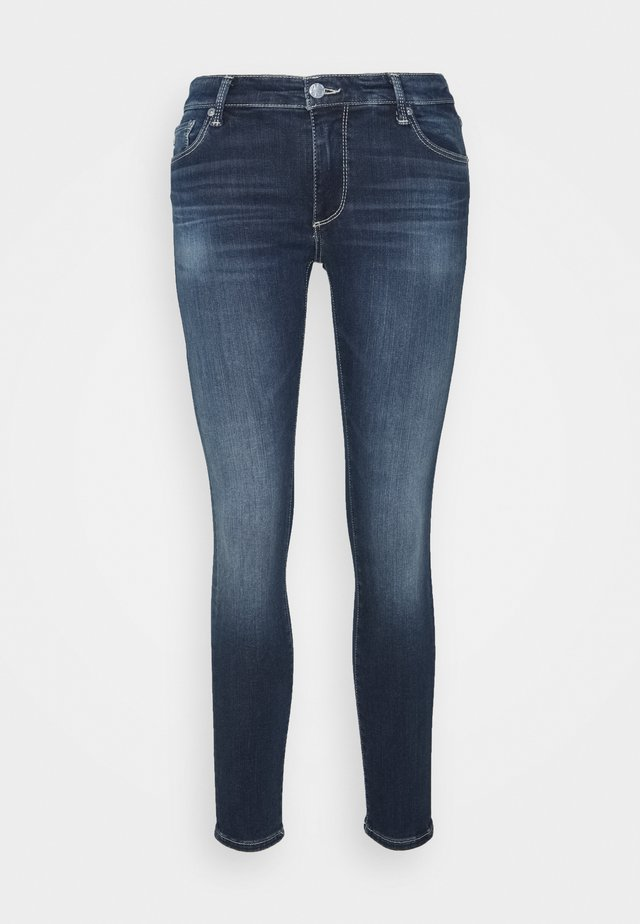 LEGGING ANKLE - Jeansy Skinny Fit - blue