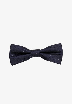 SHADOW DOT BOWTIE - Papillon - navy