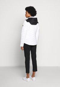 Barbour International - LIGHTNING QUILT - Light jacket - optic white/black - 2