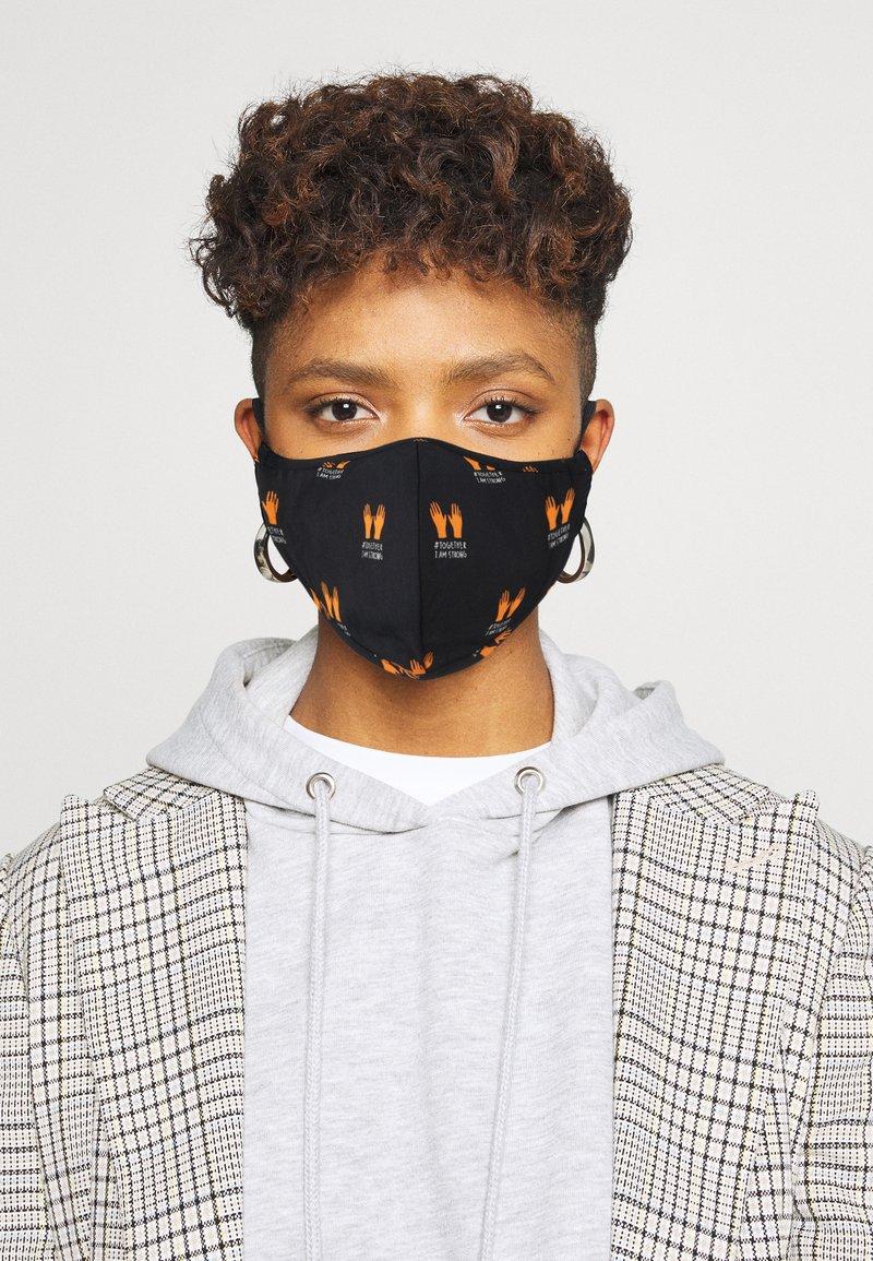 Even&Odd - 3 PACK - Community mask - multi/black