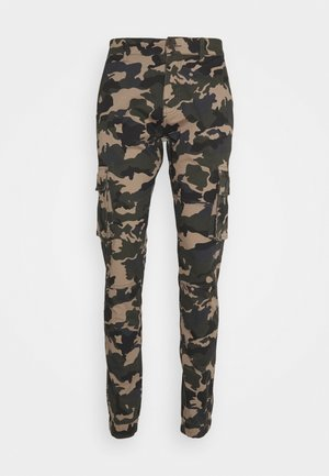 PANT - Cargo trousers - dark green