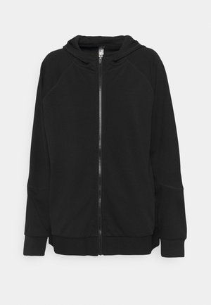 ONPNYLAH ZIP HOOD CURVY - Training jacket - black/white