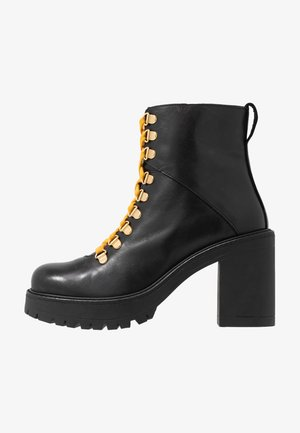 BIACURTIS BOOT - Bottines à talons hauts - black