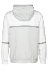 Nike Performance - Vindjacka - white grey fog particle grey black - 1