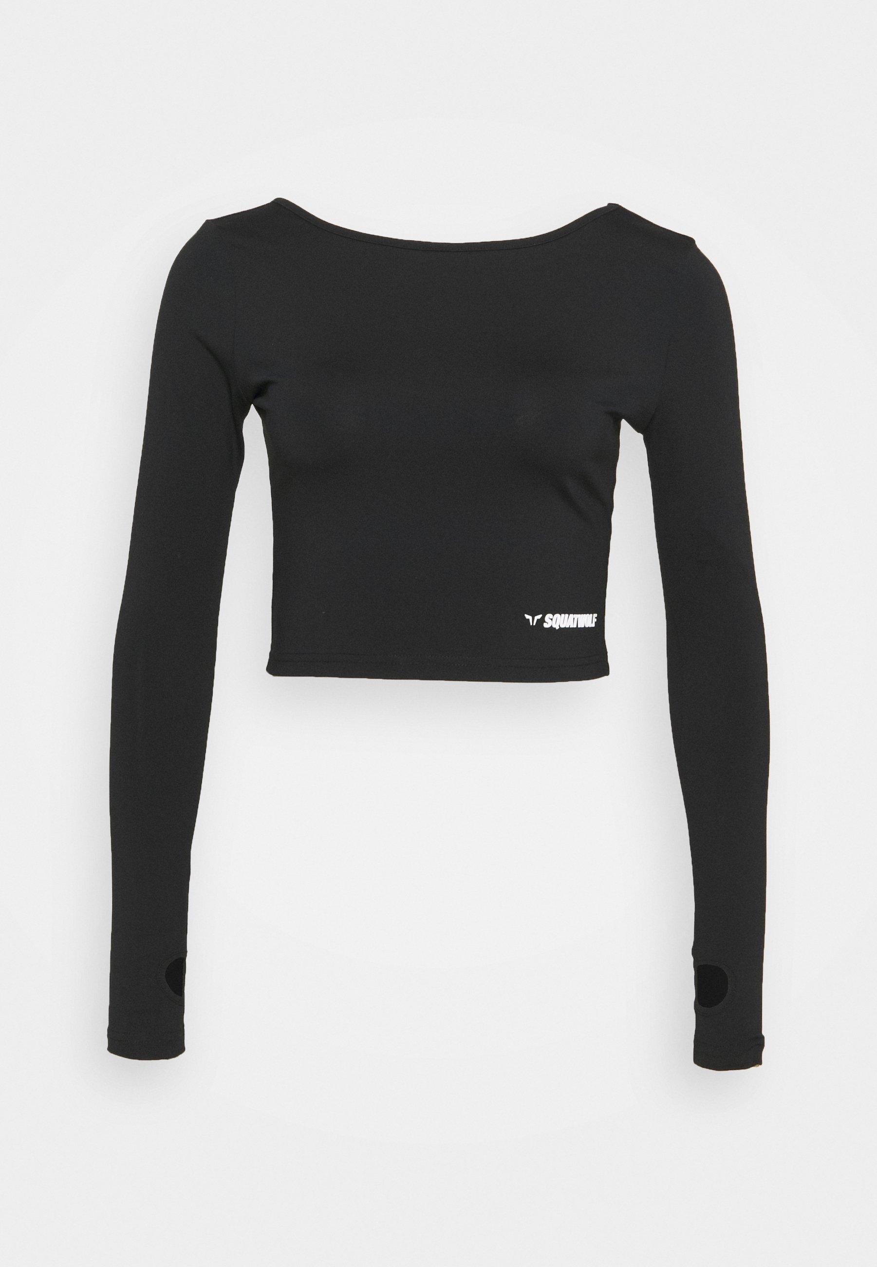 Femme WARRIOR CROP TEE - T-shirt à manches longues