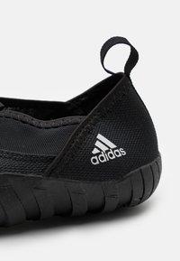 adidas Performance - JAWPAW UNISEX - Watersports shoes - core black/silver metallic - 5