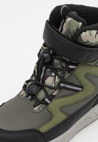 Pax - UNISEX - Winter boots - dark green - 5