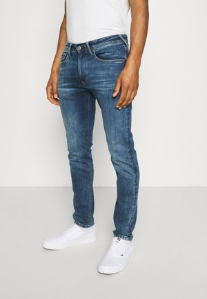 STANLEY - Jeans slim fit - blue denim