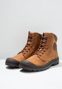Palladium - PAMPA SPORT CUFF WATERPROOF LUX - Lace-up ankle boots - sunrise/carafe - 2