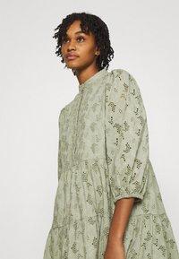 YAS - YASNADINE DRESS - Day dress - shadow - 3