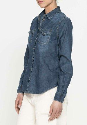 Camicia - lavaggio blu medio (