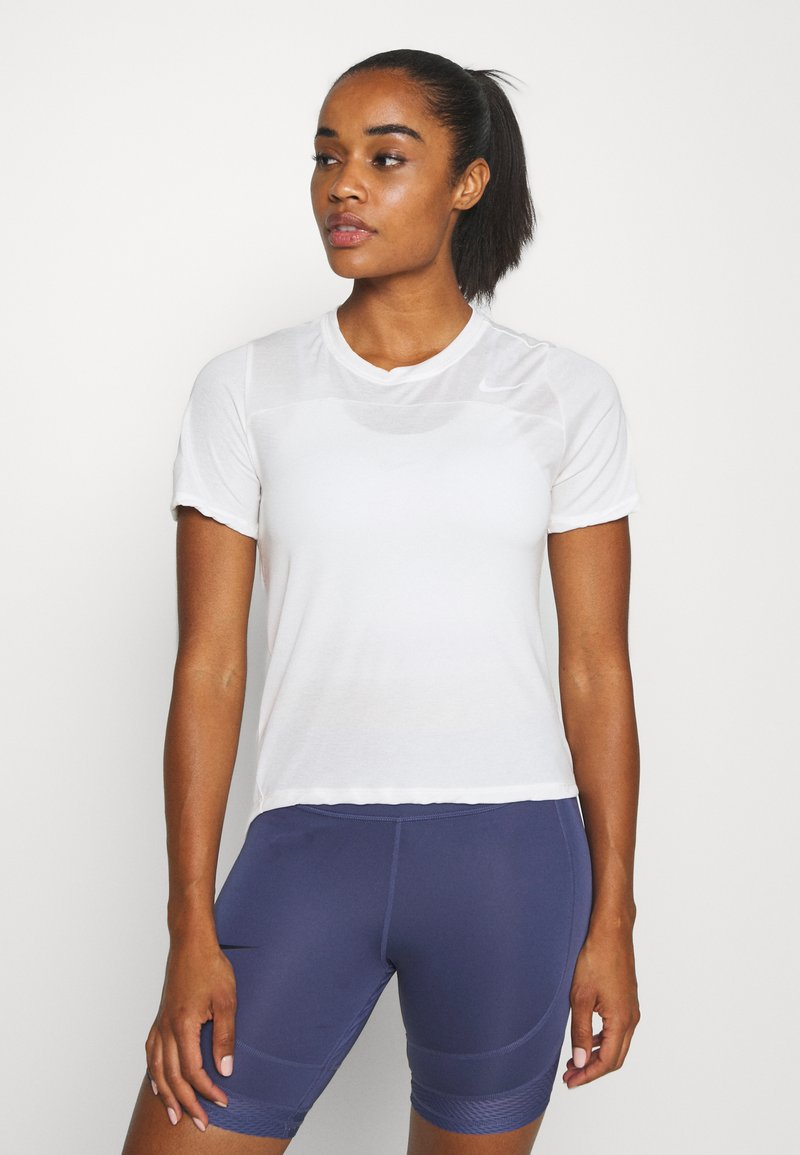 Nike Performance - BEST - Basic T-shirt - pale ivory/white