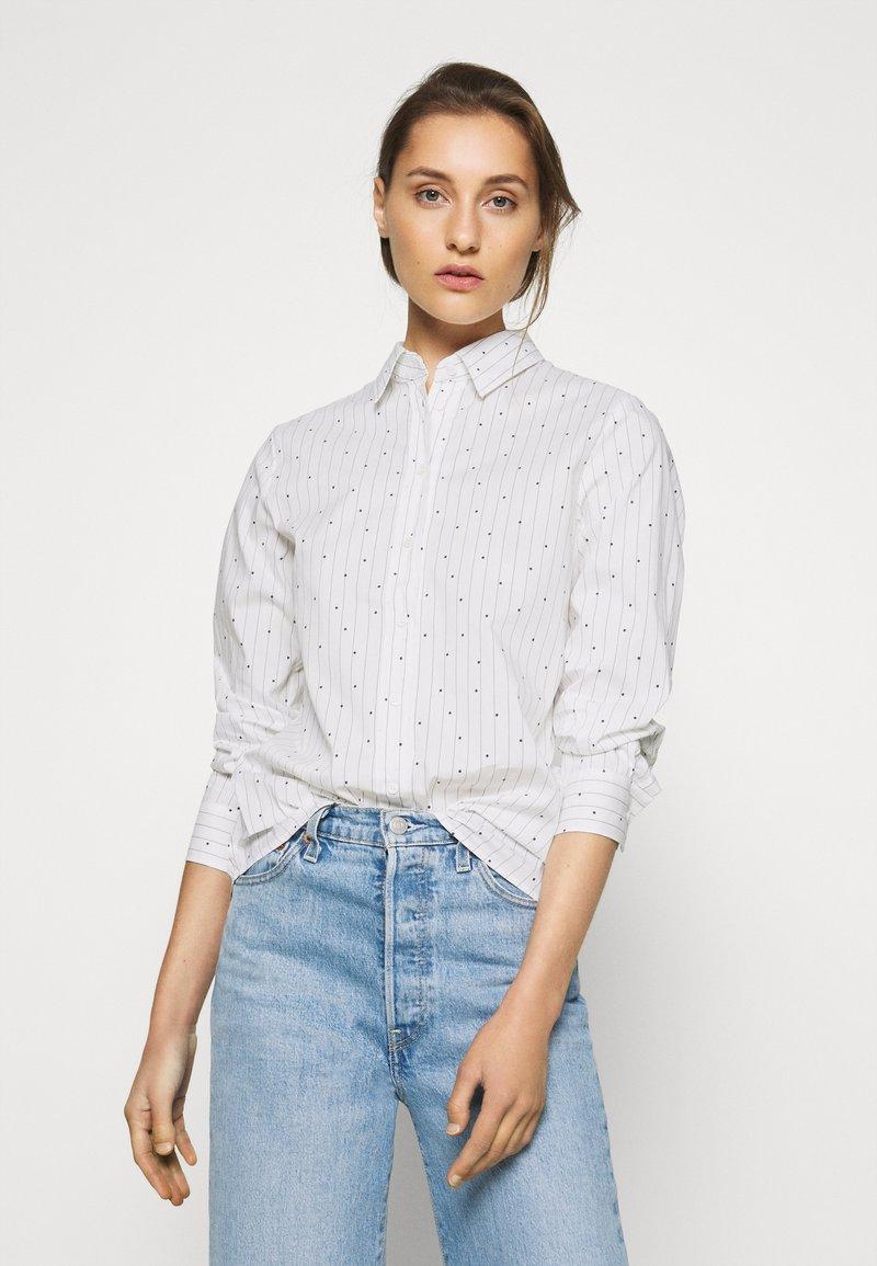 Seidensticker - Button-down blouse - white