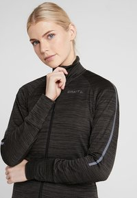 Craft - IDEAL THERMAL  - Outdoorová bunda - black melange - 3