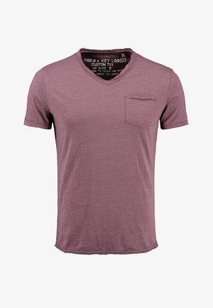 MT WATER - Basic T-shirt - dusty plum