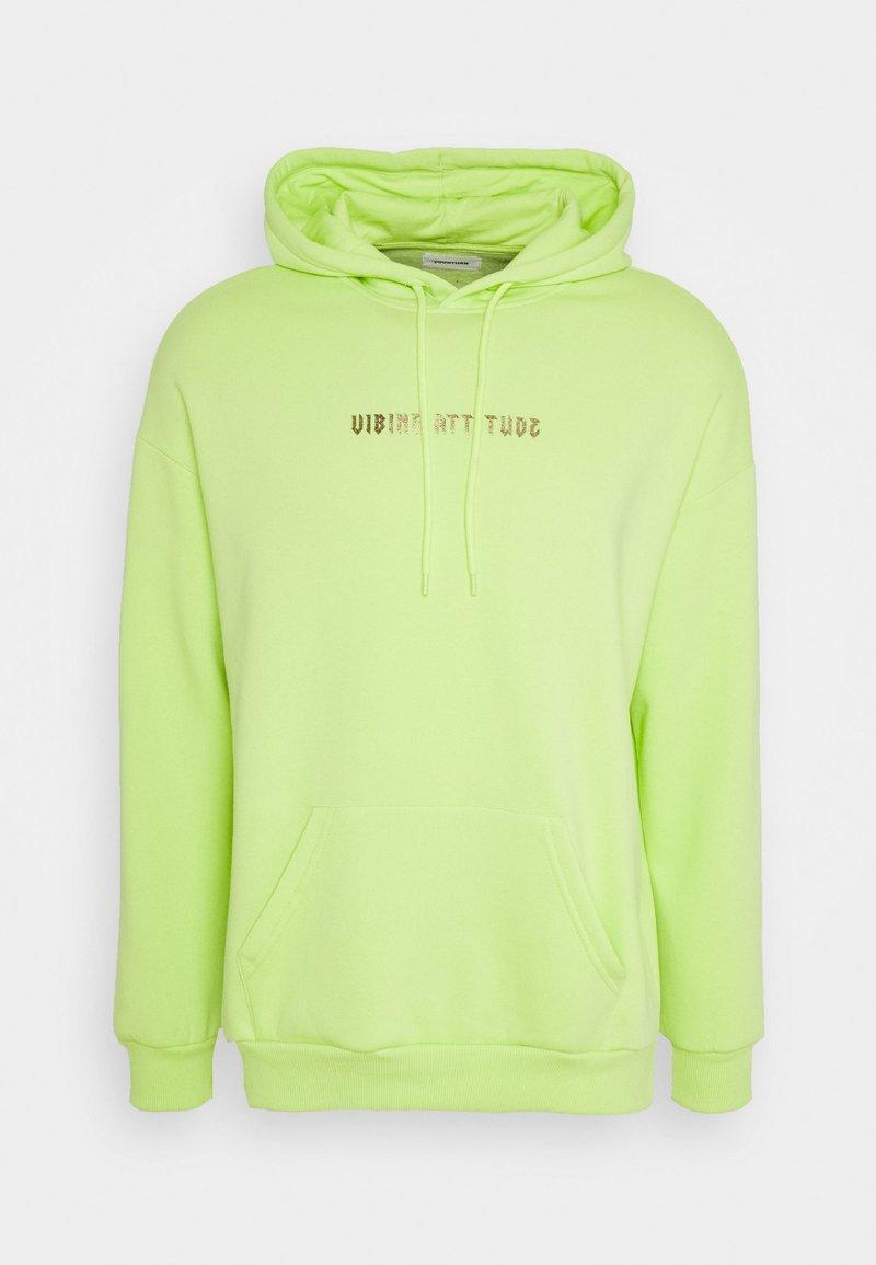 YOURTURN - Hoodie - neon green