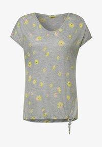 Cecil - Print T-shirt - grey - 3