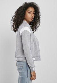 Urban Classics - Zip-up hoodie - grey white - 3