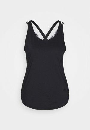 SPORT X BACK TANK - Treningsskjorter - black