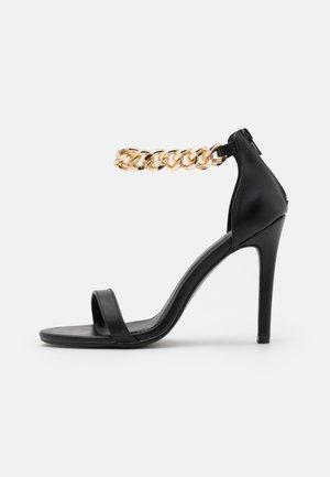 TEIGAN REMY - High heeled sandals - black