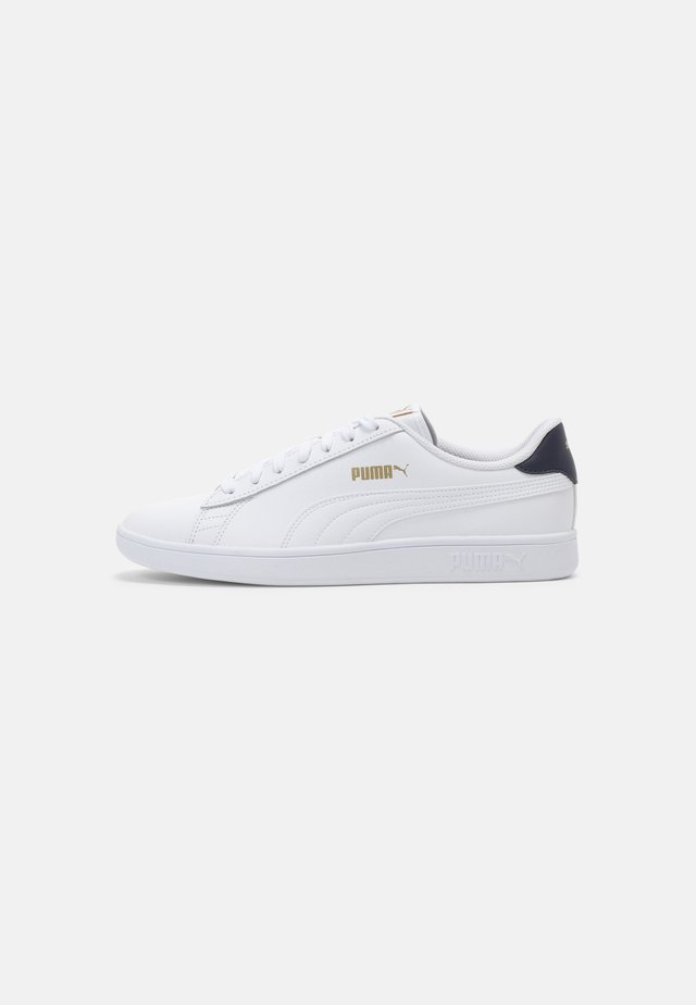 SMASH UNISEX - Sneakers laag - white/peacoat/team gold