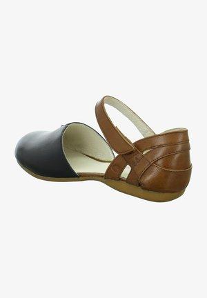 FIONA  - Sandals - schwarz-braun