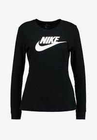 Nike Sportswear - TEE ICON - Long sleeved top - black/white - 3