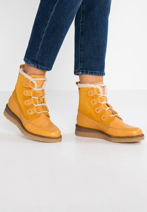 VMANE - Lace-up ankle boots - thai curry