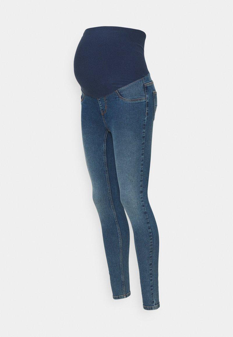 MAMALICIOUS - MLAMY  - Jeans Skinny Fit - medium blue denim