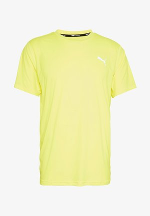 LAST LAP TEE - Camiseta básica - yellow alert