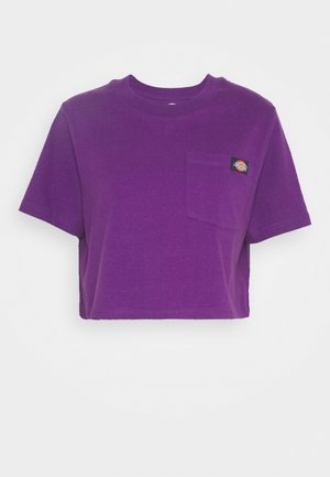ELLENWOOD - Print T-shirt - deep purple