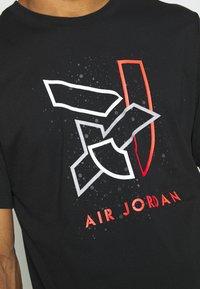 Jordan - BRAND CREW - T-shirt con stampa - black - 5