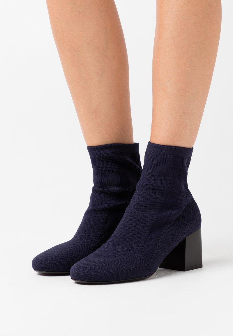 Sportmax - ANGIZIA - Ankle boots - blu marino