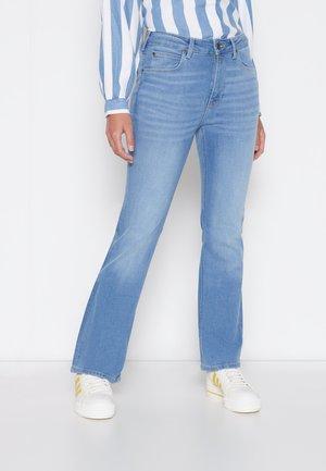 BREESE - Bootcut jeans - light lou