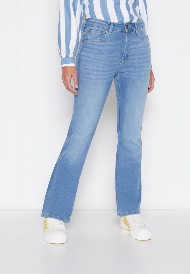 BREESE BOOT - Jeans bootcut - light lou